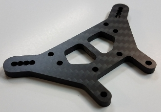 VRP CnC Option Carbon Fiber Tekno ET410 +4mm Front Tower